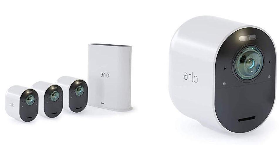 Arlo Ultra 4k HDR Homekit Camera