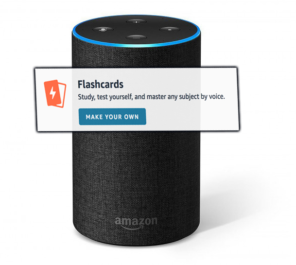 Audio flashcard App for Alexa