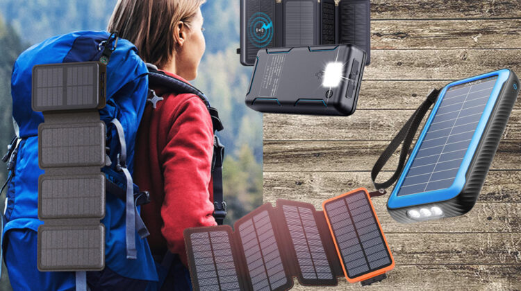 top solar phone charger with battery